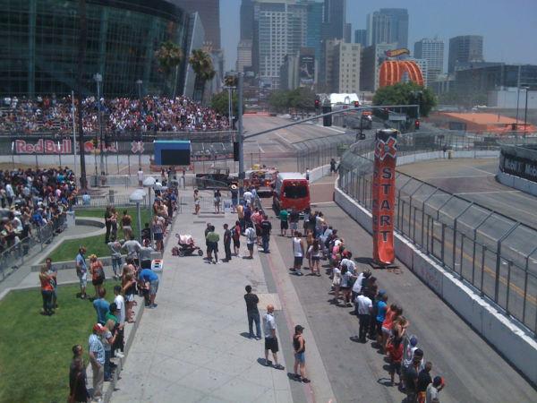 Rally Cross Crowds