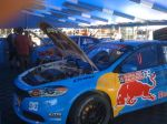 Red Bull Car at Rally Cross