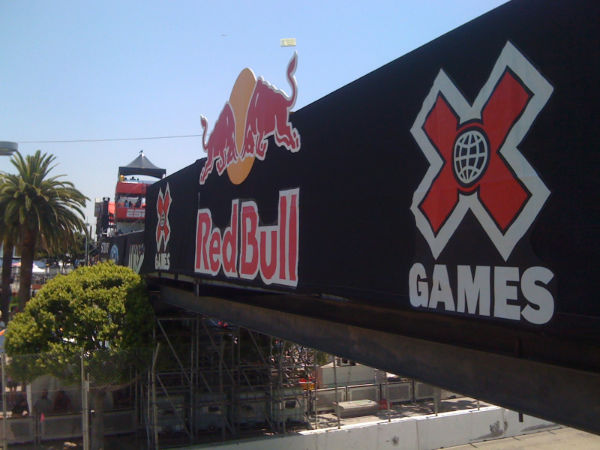 Red Bull Rally Cross Signage